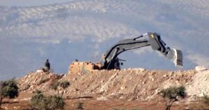 Suriye sınırında mevziler kazılmaya başlandı!