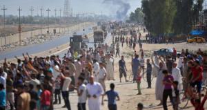 Irak ordusu Kerkük'e girdi, halk sevinçten sokaklara döküldü