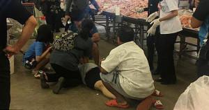 Cani koca, kendisini terk eden hamile eşini markette öldürdü!