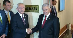 Yıldırım ve Kılıçdaroğlu görüşmesinden sonra ilk açıklama