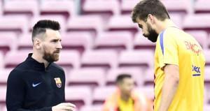 Barcelona'da yıldız oyuncular kavga etti