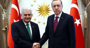 Beştepe'de sürpriz görüşme! Erdoğan ile Yıldırım bir araya geldi