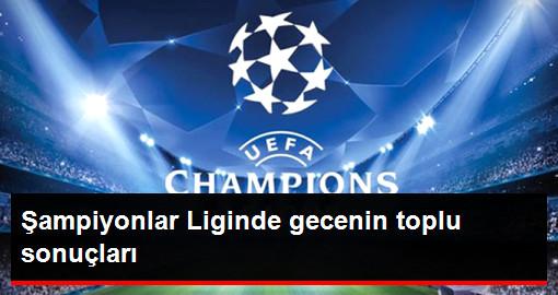 Şampiyonlar Liginde Grup Aşamasında 3.Maçlar Tamamlandı