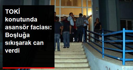 Adana'da Asansör Tamiri Yapan İşçi Asansör Hareket Edince Boşluğa Sıkışıp Can Verdi