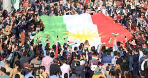 Barzani ateşle oynuyor! Kürtler, Kerkük'te ayaklandı
