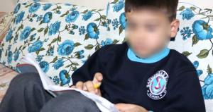 'D' harfini yazamayınca öğretmeninden dayak yiyen öğrenci: Canım yandı