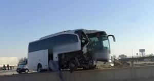 Afyonkarahisar'da yolcu otobüsü ile TIR çarpıştı: 21 ölü, 22 yaralı