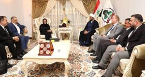 Barzani'ye ihanet eden Talabani'ye, Haşdi Şabi'den övgü