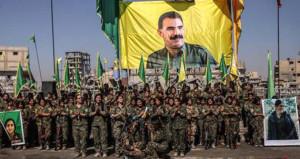Rakka'daki Öcalan posteri soruldu, Pentagon'dan itiraf geldi!