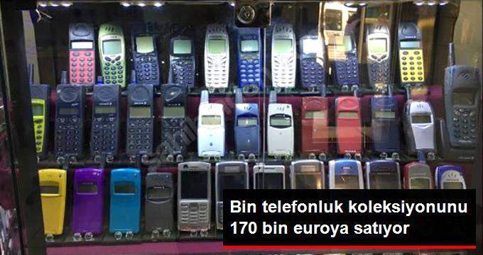 Bin Telefonluk Koleksiyonunu 170 Bin Euroya Satıyor