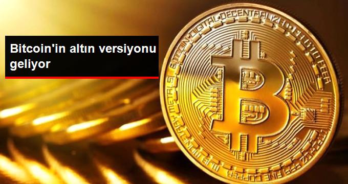 Bitcoin'in Altın Versiyonu Geliyor