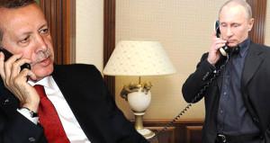 Erdoğan ile Putin'den kritik görüşme! Gündem Suriye