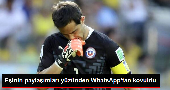 Eşinin paylaşımları yüzünden WhatsApp tan kovuldu