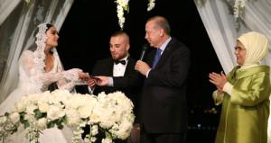Gökhan Töre, Diriliş'e damat gitti, şahitliğini Erdoğan çifti yaptı