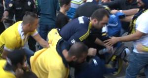 Derbi öncesi Kadıköy'de olay çıktı