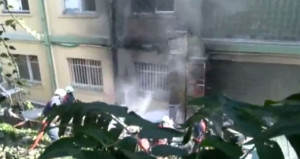Haseki Hastanesinde büyük yangın! Hastalar tahliye ediliyor