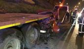 İstanbul'da korkunç kaza! TIR'a arkadan çarptı, feci şekilde can verdi