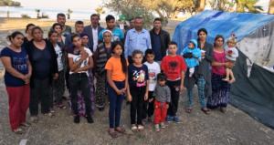Mahallelerinden sopalarla kovulan 11 hanelik ailenin büyük dramı