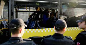 Polis, otobüsteki taraftarı stada değil karakola götürdü