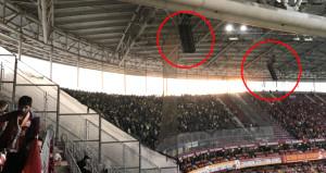 Galatasaray stadında Fenerbahçeli taraftarlara kötü sürpriz