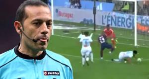 Fransa'nın Cüneyt Çakır'ı, PSG'yi bitirdi