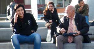 Yaşlı sapık, Taksim'in göbeğinde genç erkeklere ilişki teklif etti
