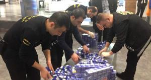 Polisler hayrete düştü! Günde 5 bin paket yakalanıyor