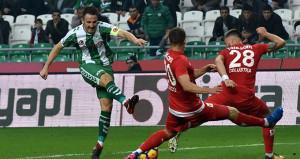 Atiker Konyaspor - Antalyaspor maçında kazanan çıkmadı