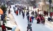 Çin fena sallandı! Deprem anı kamerada