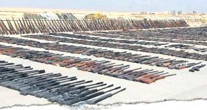 Resmen cephanelik! İşte DEAŞ'lı teröristlerden geriye kalan silahlar