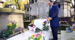 Cumhurbaşkanlığı Sözcüsü Kalın'dan Ahmet Kaya'nın mezarına ziyaret!