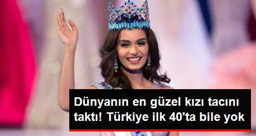 Miss World 2017nin Birincisi Belli Oldu! Türkiye İlk 40a Bile Giremedi