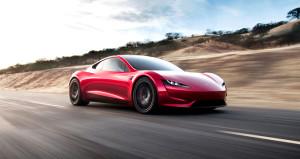 Dünyanın en hızlı arabası Tesla Roadster asfalta indi! İşte ilk video
