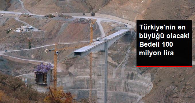 Türkiye'nin En Büyük Konsol Viyadüklü Asma Köprüsünde Sona Yaklaşılıyor