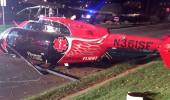 ABD'de ambulans helikopter düştü: 3 ölü