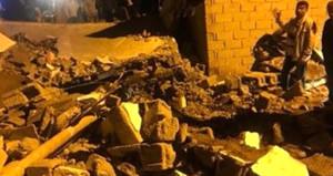 Batman'da aşırı yağışa dayanamayan kerpiç ev çöktü: 1 ölü, 6 yaralı