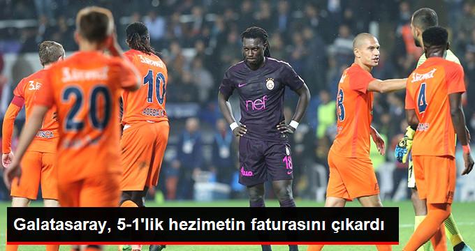 Galatasaray, 5-1 lik hezimetin faturasını çıkardı