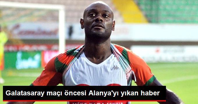 Galatasaray maçı öncesi Alanya yı yıkan haber