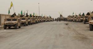PKK'lı teröristler, yüzlerce ABD zırhlısıyla sınırımızda şov yaptı!