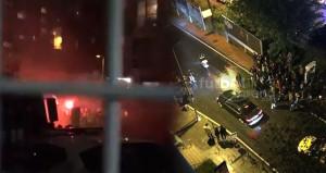 Boşnaklardan Beyaz TV önünde protesto: Rasim gelecek, hesap verecek