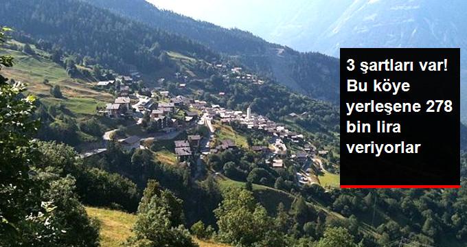 İsviçrede Nüfusu Azalan Köye Yerleşene 70 Bin Dolar Verilecek