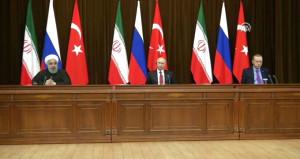 Soçi'deki üçlü zirveden Suriye için seçim kararı ve yeni anayasa çıktı