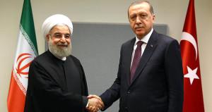 3'lü Soçi zirvesi öncesi Erdoğan, Ruhani ile görüştü