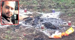Türk genci öldürüp yakmışlardı! Cinayete satanist ayini süsü verilmiş