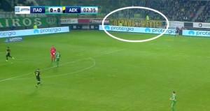 Yunan takımı için bu pankartı yaptılar: Sahte Türkler