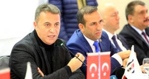 Beşiktaş Başkanı Orman: Elde Ettiğimiz Başarının Gururunu Yaşıyoruz