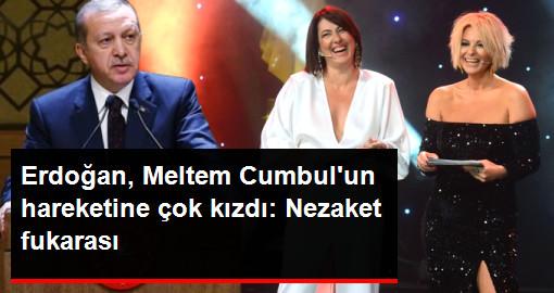 Erdoğan, Semih Kaplanoğlunun Elini Sıkmayan Meltem Cumbulu Eleştirdi: Nezaket Fukarası