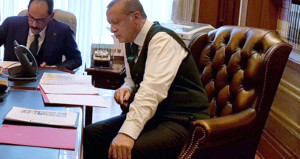 Trump'la görüşen Erdoğan, fotoğraf paylaşıp açıklama yaptı