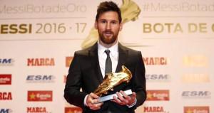 Yıldız futbolcu Messi ödülüne kavuştu