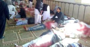 Son dakika: Cami katliamında bilanço ağırlaşıyor: 305 ölü